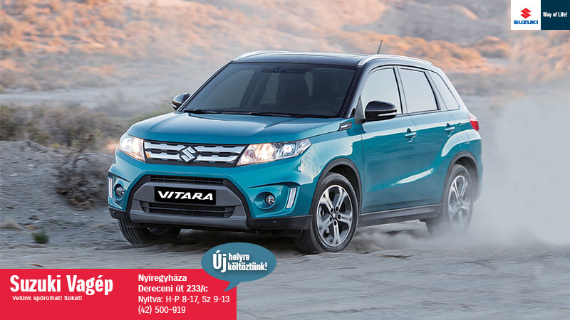 Suzuki Vitara akció