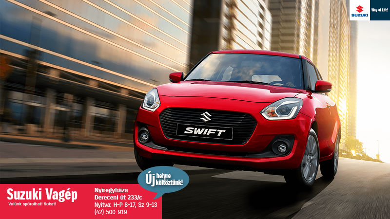 Suzuki Swift akció